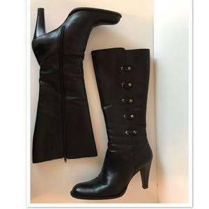 Nina Leather Boots, 9